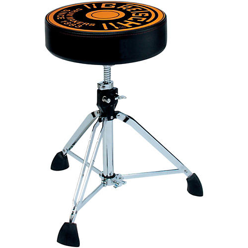 Gretsch Drums Pro Throne with Gretsch Round Badge Logo Seat Top-thumbnail