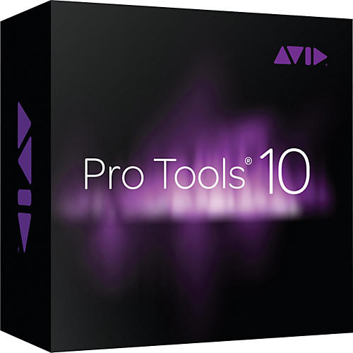 Avid Pro Tools 10 upgrade from LE or MP (activation card)