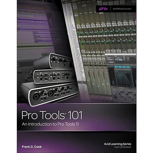 Cengage Learning Pro Tools 101: An Introduction to Pro Tools 11 BOOK/DVD-thumbnail