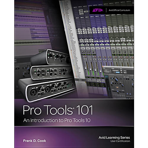Cengage Learning Pro Tools 101 Official Courseqare Ver 10 Book / CD