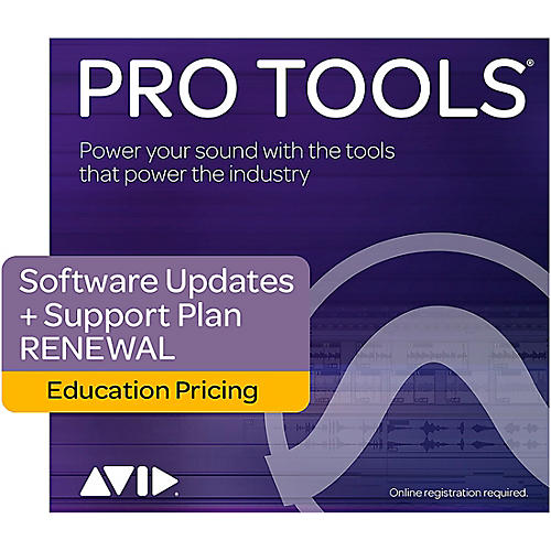 Avid Pro Tools 12 Annual Upgrade Plan (Activation Card)-thumbnail