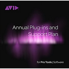 Avid Pro Tools Annual Plug-in and Support Plan Renewal