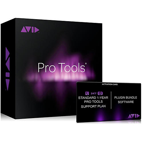 Avid Pro Tools Annual Tech Support & Plugins Plan For Pt 12 Users (Activation Card)-thumbnail