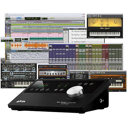 Avid Pro Tools Quartet with 1-Year Pro Tools Subscription