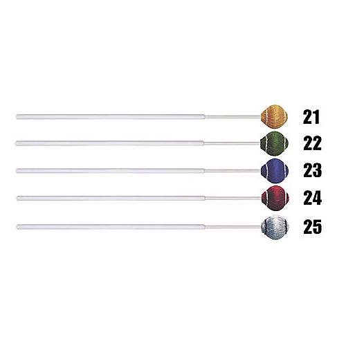 Mike Balter Pro Vibe Series Fiberglass Mallets 25 Silver Cord Jazz