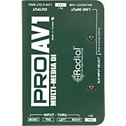 Radial Engineering ProAV1 Single-Channel Direct Box