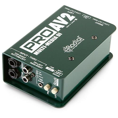 Radial Engineering ProAV2 Stereo Direct Box-thumbnail