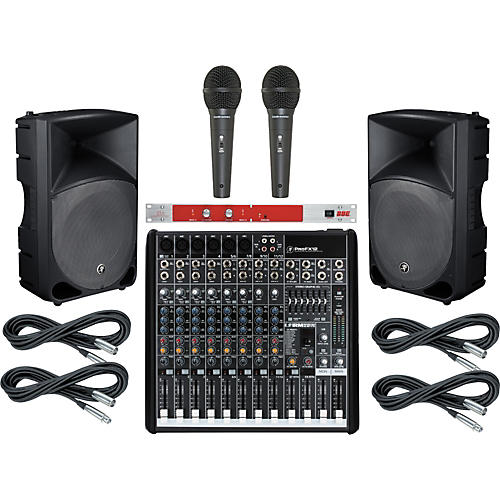 Mackie ProFX12 / TH-15A PA Package with BBE 382i