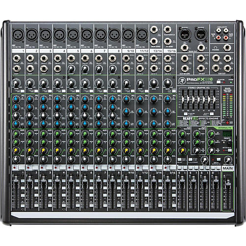 Mackie ProFX16v2 16-Channel 4-Bus FX Mixer with USB   UsedGrade1-thumbnail