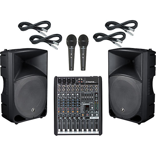 Mackie ProFX8 / TH-15A PA Package