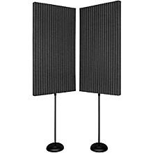 "Auralex ProMax Walls 2'x4'x3"" panels (2 pack) Level 1 Charcoal"