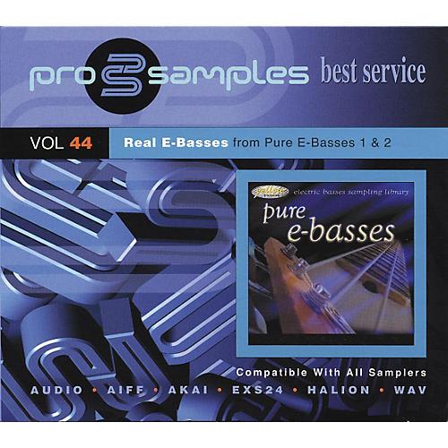 EastWest ProSamples Vol. 44 Real E Basses CD-ROM