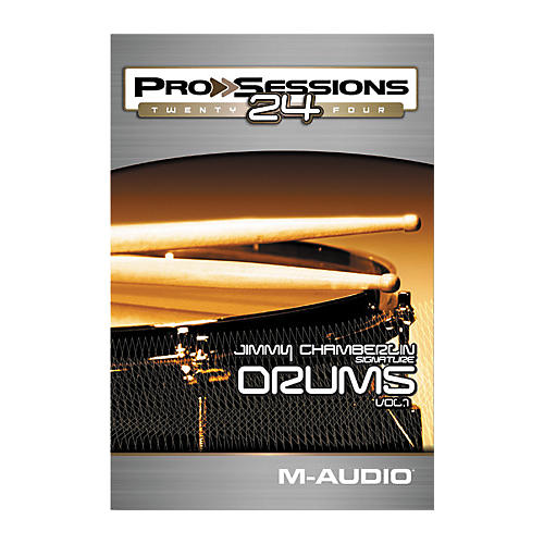 M-Audio ProSessions 24 Jimmy Chamberlin Signature Drums Volume 1