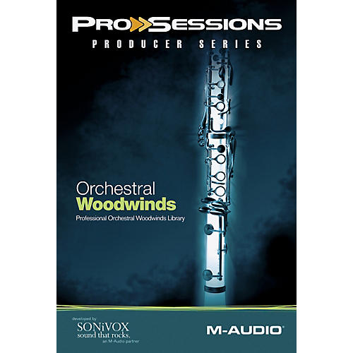 M-Audio ProSessions Producer: Orchestral Woodwinds