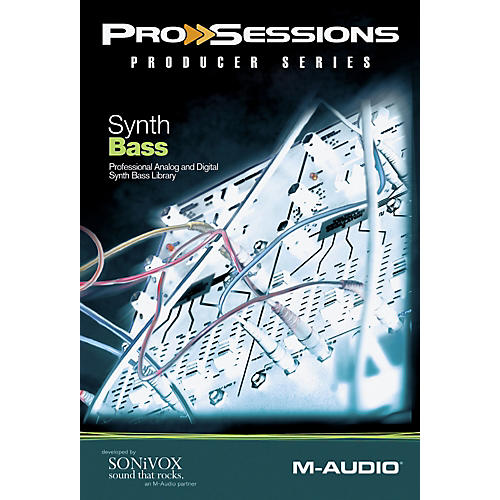 M-Audio ProSessions ProducerSeries: Synth Bass-thumbnail