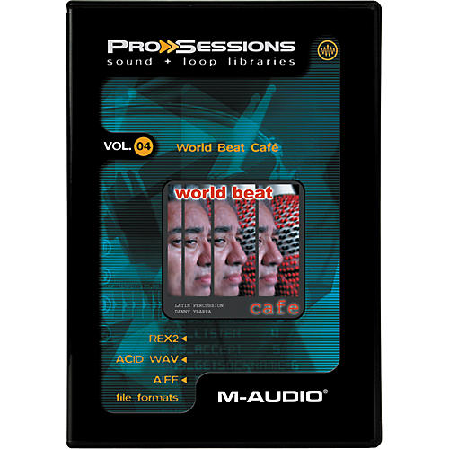 M-Audio ProSessions-Vol 4 World Beat Cafe