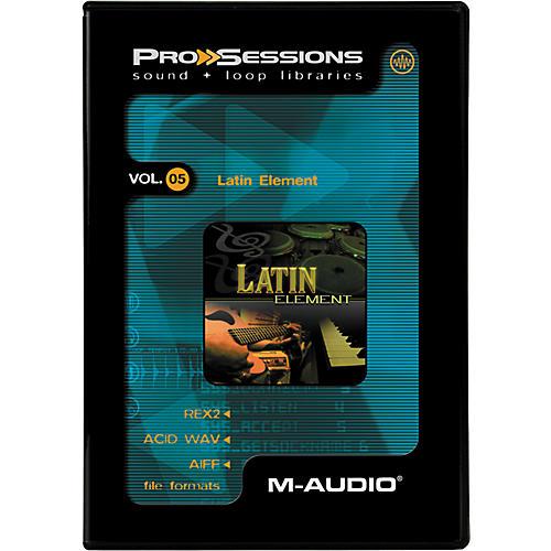 M-Audio ProSessions-Vol 5 Latin Element-thumbnail