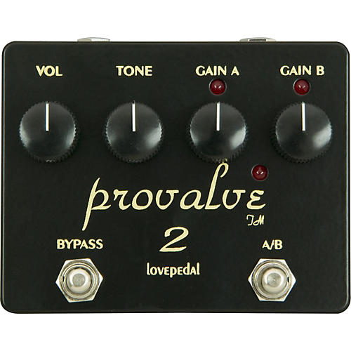Lovepedal ProValve 2 Dual Distortion Guitar Effects Pedal-thumbnail