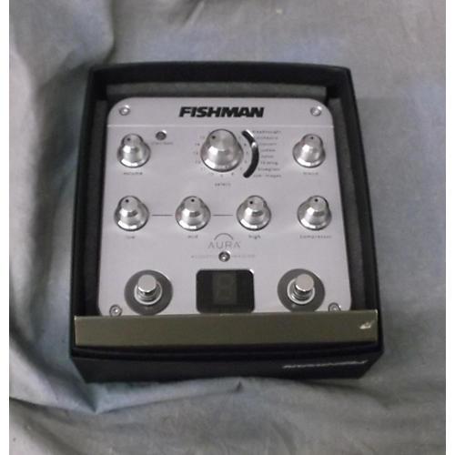 Fishman Proaurspc Aura Spectrum Chrome Silver Pedal