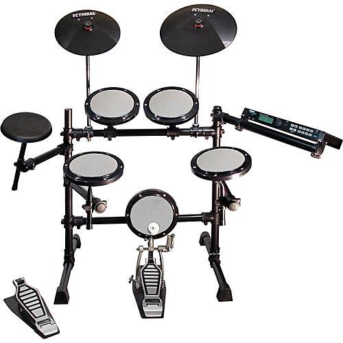 Hart Dynamics Prodigy Electronic Drum Set and Alesis DM5 Module Kit-thumbnail