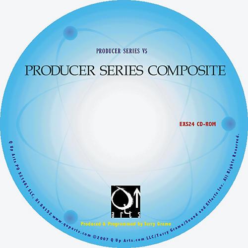 Q Up Arts Producer Series Composite V5 Steinberg HALion CD-ROM