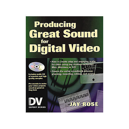 Miller Freeman Producing Great Sound for Digital Video Book