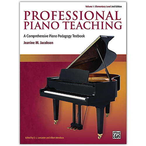 Alfred Professional Piano Teaching, Volume 1 (2nd Edition) Elementary Levels-thumbnail