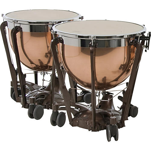 Adams Professional Series Generation II Polished Copper Timpani, Set of 2-thumbnail