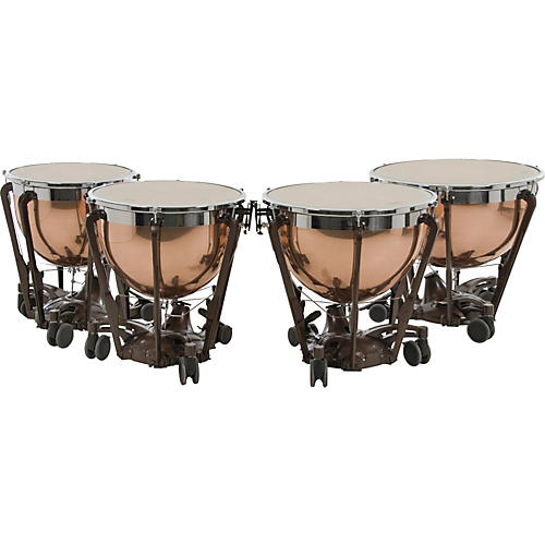 Adams Professional Series Generation II Polished Copper Timpani, Set of 4-thumbnail