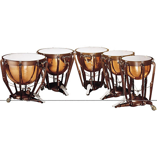 Ludwig Professional Series Hammered Timpani Concert Drums Lkp529Kg 29 in. With Pro Tuning Gauge