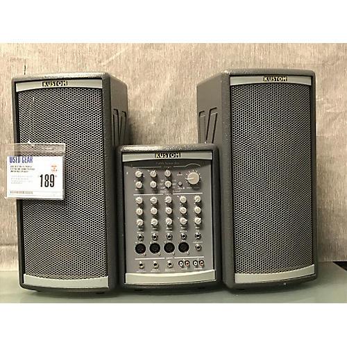 Kustom PA Profile System One Sound Package Unpowered Speaker