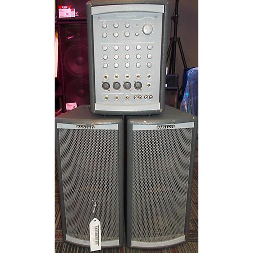 used kustom profile system one sound package guitar center. Black Bedroom Furniture Sets. Home Design Ideas