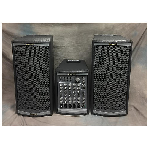 used kustom pa profile system two pa package sound package guitar center. Black Bedroom Furniture Sets. Home Design Ideas