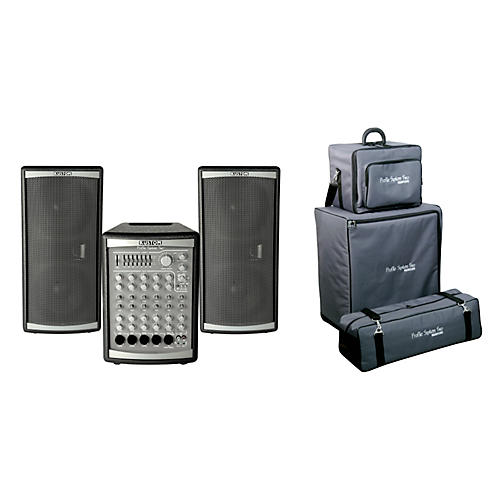 Kustom PA Profile Two PA System w/ Roller Bag-thumbnail