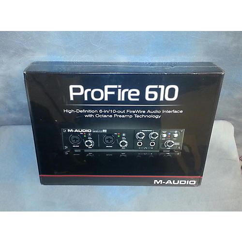 M-Audio Profire 610 Audio Interface