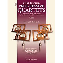 Carl Fischer Progressive Quartets for Strings- Cello (Book)