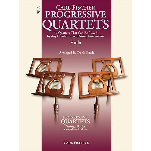 Carl Fischer Progressive Quartets for Strings- Viola (Book)-thumbnail