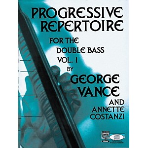 Carl Fischer Progressive Repertoire For The Double Bass Vol. One by Carl Fischer