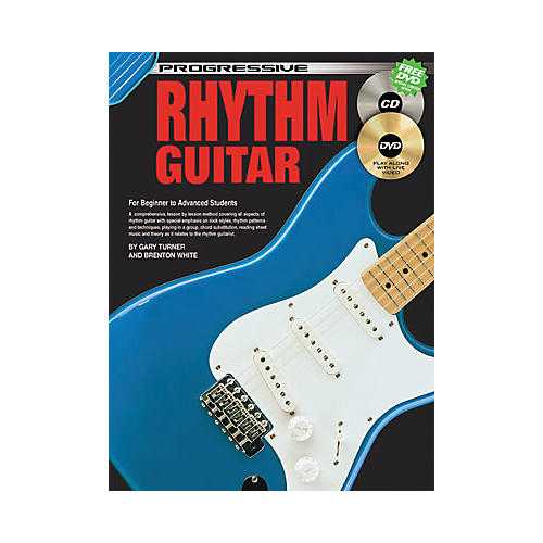 Koala Music Progressive Rhythm Guitar (Book/CD/DVD)