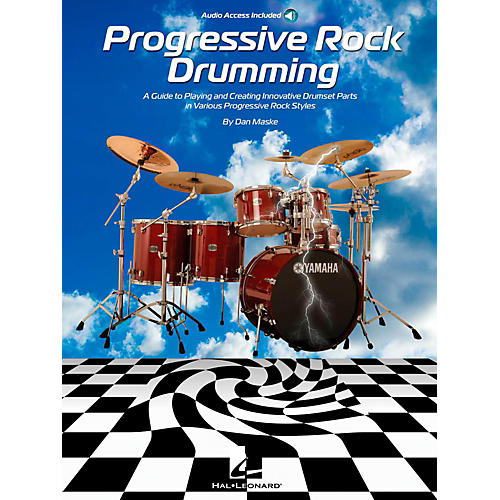 Hal Leonard Progressive Rock Drumming Book w/ Online Audio-thumbnail