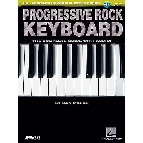 Hal Leonard Progressive Rock Keyboard Book/CD