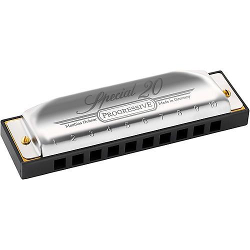 Hohner Progressive Series 560 Special 20 Harmonica-thumbnail