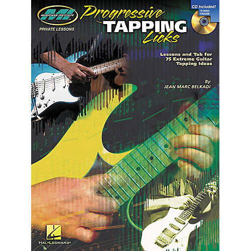 Musicians Institute Progressive Tapping Licks (Book/CD)-thumbnail