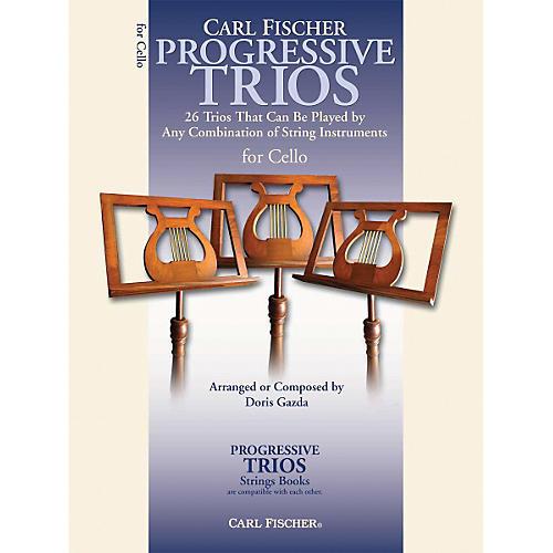 Carl Fischer Progressive Trios for Strings - Cello Book-thumbnail