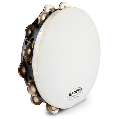 Grover Pro Projection-Plus Double-Row German Silver Tambourine-thumbnail