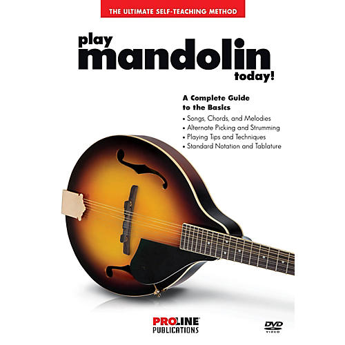 Proline Proline - Play Mandolin Today DVD-thumbnail
