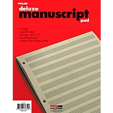 Proline Proline Manuscript Paper Deluxe Pad