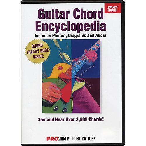 Hal Leonard Proline Picture Chord Encyclopedia DVD
