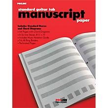 Proline Proline Standard Guitar Tablature Manuscript Paper Pad