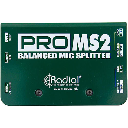 Radial Engineering PromS2 Passive Microphone Splitter-thumbnail